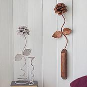 Подвески ручной работы. Ярмарка Мастеров - ручная работа Интерьерный цветок на стену. Handmade.