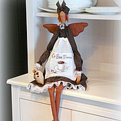 Куклы и игрушки handmade. Livemaster - original item Tilda - coffee fairy. Handmade.