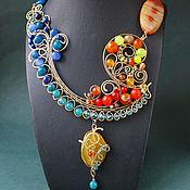 Украшения handmade. Livemaster - original item Necklace The Midday Sun. Handmade.