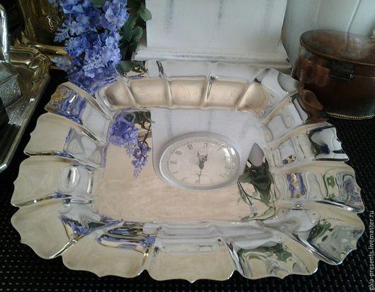 Винтажная посуда. Ярмарка Мастеров - ручная работа. Купить -10% Антиквариат. Большое квадратное блюдо, Англия, 1950е, винтаж. Handmade.