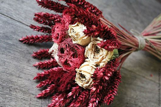 Букеты ручной работы. Ярмарка Мастеров - ручная работа. Купить Букет из сухоцветов. Handmade. Букет, подарок, интерьерный букет, сухоцветы