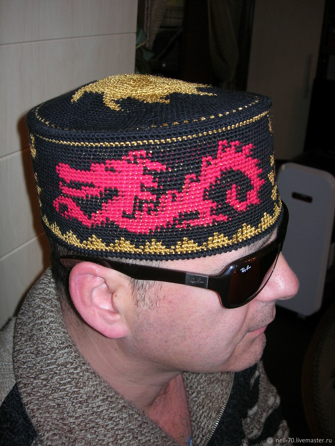 Hat 'Dragon ', Caps, Moscow,  Фото №1