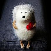 Куклы и игрушки ручной работы. Ярмарка Мастеров - ручная работа Ежик - ежик в тумане - войлочная игрушка. Handmade.