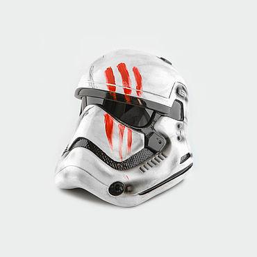 Дизайн и реклама ручной работы. Ярмарка Мастеров - ручная работа Боеовой шлем штурмовика FN-2187 Предатель. Handmade.