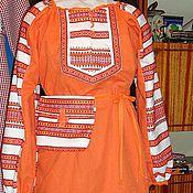 Одежда ручной работы. Ярмарка Мастеров - ручная работа платье-покосница. Handmade.