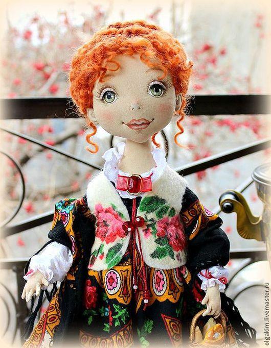 Коллекционные куклы ручной работы. Ярмарка Мастеров - ручная работа. Купить Кадриль. Handmade. Авторская кукла, русская кукла