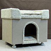 Для домашних животных, ручной работы. Ярмарка Мастеров - ручная работа Домик для собаки или кошки купить.. Handmade.