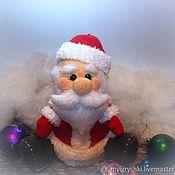Мягкие игрушки ручной работы. Ярмарка Мастеров - ручная работа Добрый Дедушка Мороз, он подарки Вам принес!!!!!!. Handmade.