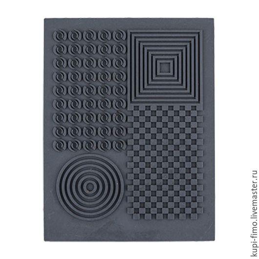 """Для украшений ручной работы. Ярмарка Мастеров - ручная работа. Купить Штамп резиновый """"Геометрия"""". Handmade. Резина, штамп резиновый"""