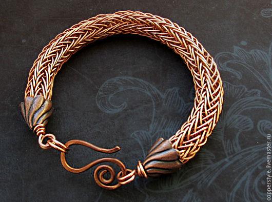 """Браслеты ручной работы. Ярмарка Мастеров - ручная работа. Купить Браслет мужской """"Викинг"""". Handmade. Wire wrap, мужской браслет"""