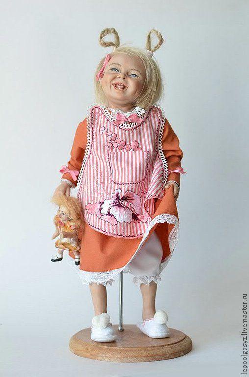 """Коллекционные куклы ручной работы. Ярмарка Мастеров - ручная работа. Купить Кукла """"Соня"""". Handmade. Рыжий, интерьерная кукла"""