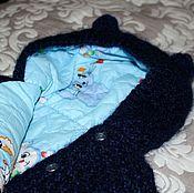 Работы для детей, ручной работы. Ярмарка Мастеров - ручная работа Теплая курточка с ушками. Handmade.