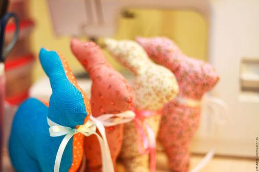 Игрушки животные, ручной работы. Ярмарка Мастеров - ручная работа. Купить Пасхальные кролики Тильда. Handmade. Комбинированный, зайка тильда