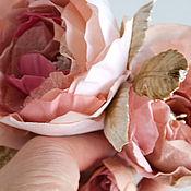 Украшения ручной работы. Ярмарка Мастеров - ручная работа чайная роза. Handmade.