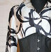 Одежда ручной работы. Ярмарка Мастеров - ручная работа корсет под грудь. Handmade.