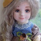Куклы и игрушки ручной работы. Ярмарка Мастеров - ручная работа Текстильная коллекционная кукла Зося. Handmade.
