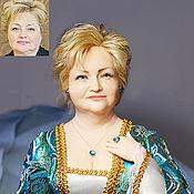 Куклы и игрушки ручной работы. Ярмарка Мастеров - ручная работа Портрет женщины. Handmade.