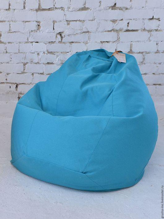 """Мебель ручной работы. Ярмарка Мастеров - ручная работа. Купить Кресло-мешок """"Королевское"""" из жаккарда. Handmade. Бирюзовый, Мебель, спанбонд"""