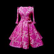 """Одежда ручной работы. Ярмарка Мастеров - ручная работа Платье """"Медея"""" розовые лепестки. Handmade."""