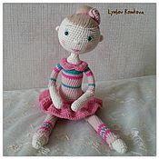 Куклы и игрушки ручной работы. Ярмарка Мастеров - ручная работа Куколка-гимнастка Мишель. Handmade.