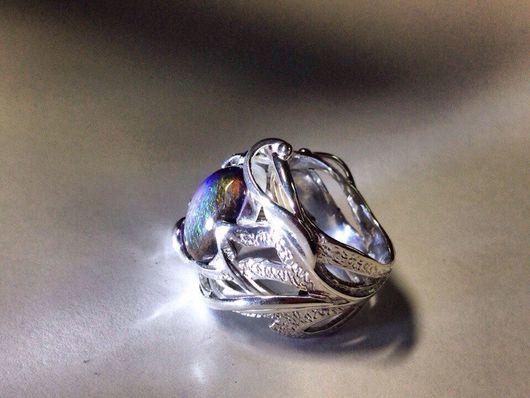 Кольца ручной работы. Ярмарка Мастеров - ручная работа. Купить Кольцо с камнем в серебре. Handmade. Кольцо, серебро