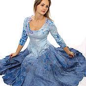 Одежда ручной работы. Ярмарка Мастеров - ручная работа Платье нуновойлок Spring Melody. Handmade.