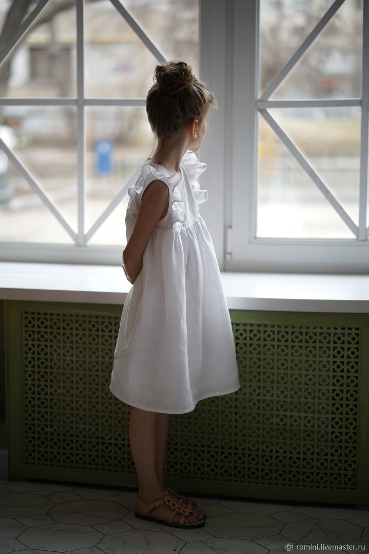 Платье Зефир из льна, Платье, Челябинск,  Фото №1