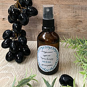 Косметика ручной работы handmade. Livemaster - original item Oily and combination genuine Black grapes. Handmade.
