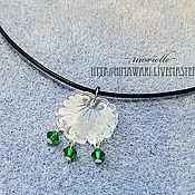 Украшения handmade. Livemaster - original item A Leaf Pendant. Handmade.