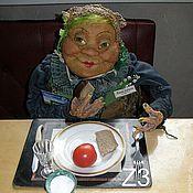 Дизайн и реклама ручной работы. Ярмарка Мастеров - ручная работа большая интерьерная кукла арт-объект Жанна. Handmade.