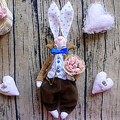 Куклы и игрушки ручной работы. Ярмарка Мастеров - ручная работа Заяц тильда,тильда заяц,кролик тильда,Пасхальный заяц.. Handmade.