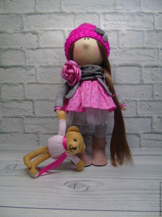 Коллекционные куклы ручной работы. Ярмарка Мастеров - ручная работа. Купить Текстильная кукла Кесси. Handmade. Куклы, куклы текстильные