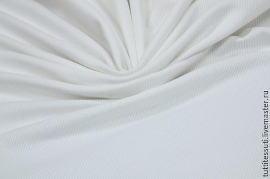 Шитье ручной работы. Ярмарка Мастеров - ручная работа. Купить Вельвет 09-003-2611. Handmade. Белый, итальянский хлопок