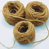 Материалы для творчества handmade. Livemaster - original item Master class nettle yarn. Handmade.