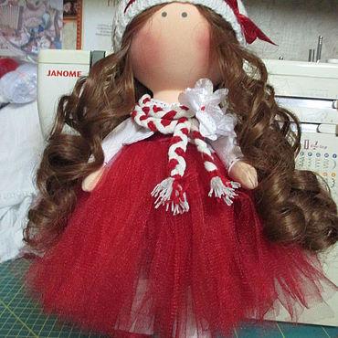 Dolls & toys handmade. Livemaster - original item Textile doll Daisy. Handmade.