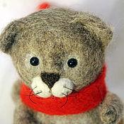 """Куклы и игрушки ручной работы. Ярмарка Мастеров - ручная работа Войлочная игрушка """"Кот Морс"""". Handmade."""