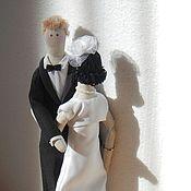 свадебная пара куклы тильды Счастливый день