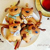Куклы и игрушки ручной работы. Ярмарка Мастеров - ручная работа Пряничные зверики. Handmade.