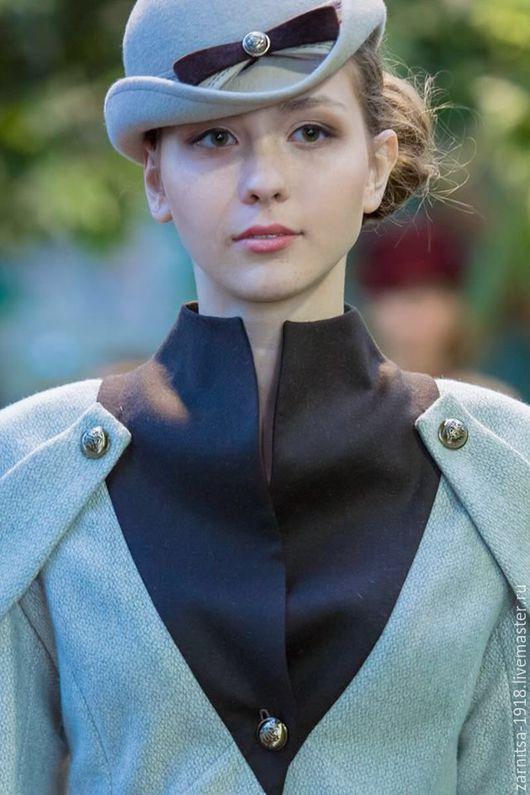 """Шляпы ручной работы. Ярмарка Мастеров - ручная работа. Купить Велюровая шляпка """"Ирен"""". Handmade. Шляпка, головной убор"""