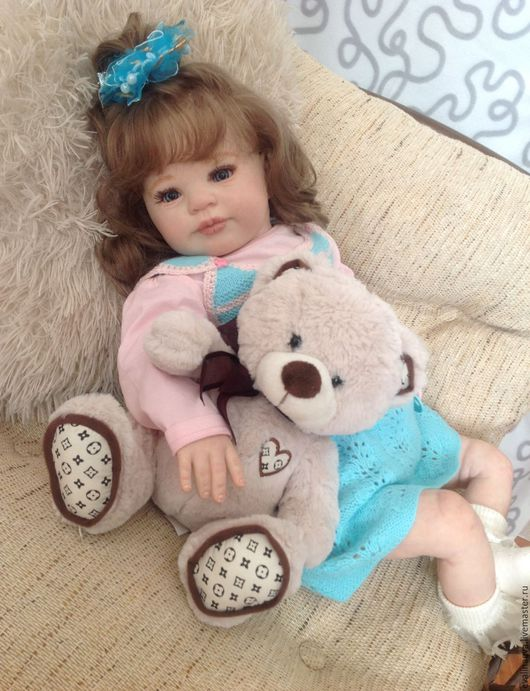 Куклы-младенцы и reborn ручной работы. Ярмарка Мастеров - ручная работа. Купить Малышка Никочка из молда Holly от Donna RuBert. Handmade.