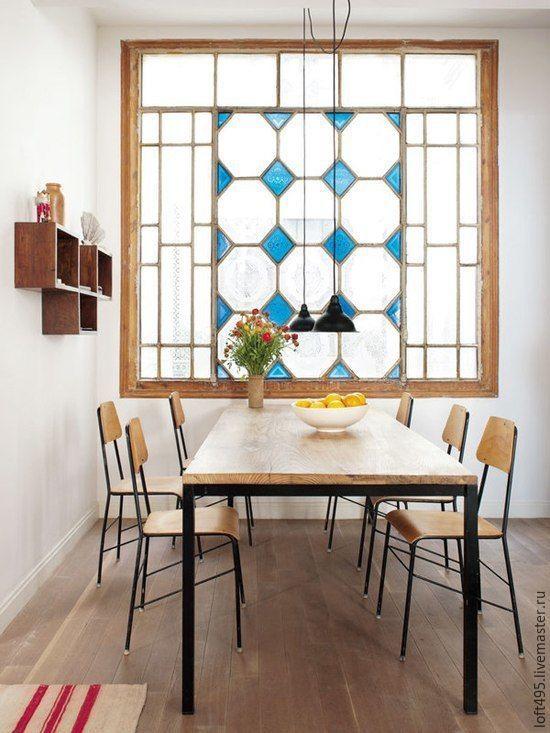 Мебель ручной работы. Ярмарка Мастеров - ручная работа. Купить Стол обеденный в лофт стиле стол лофт стол loft. Handmade.