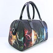 Сумки и аксессуары handmade. Livemaster - original item Leather bag Stingray IMC0540A1. Handmade.