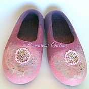 Slippers handmade. Livemaster - original item womens Slippers