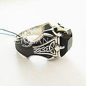 Украшения handmade. Livemaster - original item Ring with onyx Dragon Claw. Handmade.