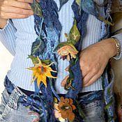 """Аксессуары ручной работы. Ярмарка Мастеров - ручная работа шарф """"фантазия"""". Handmade."""