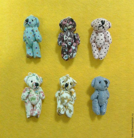 """Куклы и игрушки ручной работы. Ярмарка Мастеров - ручная работа. Купить Игрушка для куклы"""" Мишка"""". Handmade. Комбинированный, мишка для куклы"""