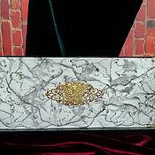 Канцелярские товары handmade. Livemaster - original item Desktop organizers: The beauty of stone. Handmade.