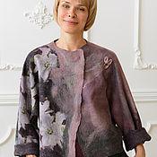 """Одежда ручной работы. Ярмарка Мастеров - ручная работа Жакет """"Царство орхидеи"""". Handmade."""