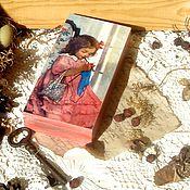"""Для дома и интерьера ручной работы. Ярмарка Мастеров - ручная работа Шкатулка купюрница """"Алиса.  Мамина радость"""". Handmade."""