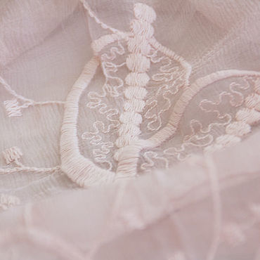 Accessories handmade. Livemaster - original item Exclusive silk embroidered handkerchief made of Gucci fabric dusty rose. Handmade.